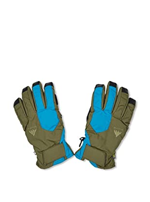 Burton Guantes Pyro Undgl (Verde Militar / Azul)