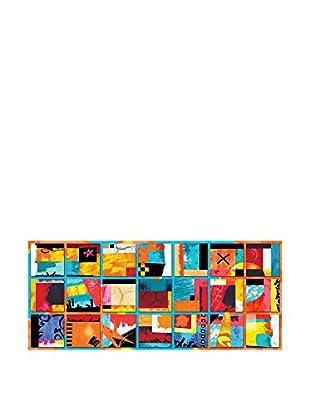 Contemporary Wood Leinwandbild Abstract - A