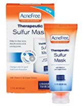 Acnefree Therapeutic Sulfur Mask 1.7 Ounce 2 Pack AD