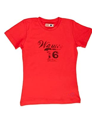 Naf Naf Chevignon Camiseta Número (Coral)