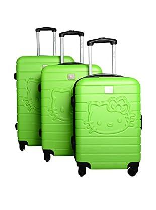 Hello Kitty Set de 3 trolleys rígidos 85260/3