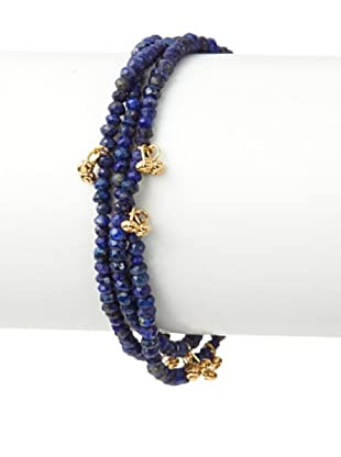 Shashi Lapis Eliza Wrap Bracelet