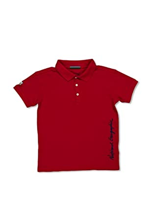National Geographic Polo Matthews (Rosso)