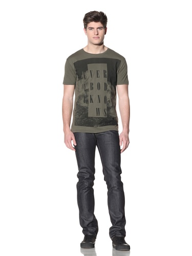 MG Black Label Men's Mountain Graphic Tee (Olive)