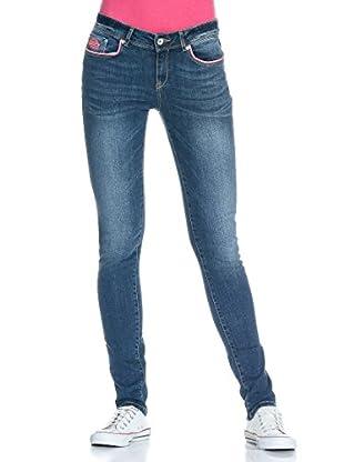Superdry Hose Standard Blue Skinny