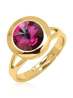 Swarovski Elements by Philippa Gold Ring Oneone Dot Ring