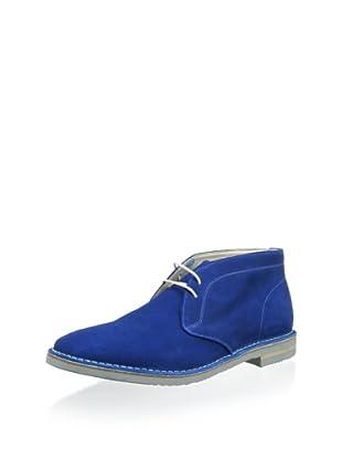 Dino Bigioni Men's Desert Boot (Electric Blue)