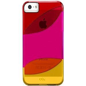 Case-Mate Colorways CM022490 Case for Apple iPhone 5 (Red/Lipstick Pink/Tangerine Orange)