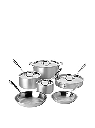 All-Clad MC2 10-Piece Stainless Steel Cookware Set