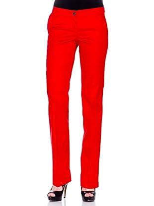 Mango Pantalón Chino (Rojo)