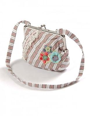 My Doll Tasche (beige/weiß/rot/lila)