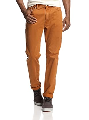 Denim & Leathers by andrew Marc Men's Relaxed Trouser (Clay)