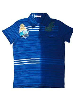Custo Polo Pock Barry (Azul)