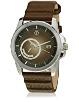 Titan Purple Analog Brown Dial Men's Watch - NE9465SL02J