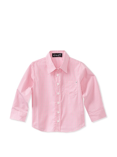 A for Apple Oxford Shirt (Pink)