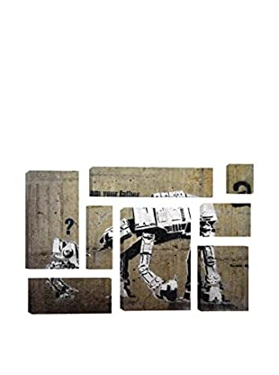 Banksy I Am Your Father 8-Piece Giclée On Canvas