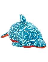 "My Pillow Pets Dolphin Swirly Plush, 18""/Large"
