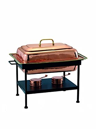 Old Dutch International 8-Qt. Rectangular Copper Chafing Dish