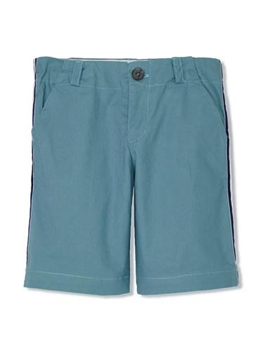 Upper School Boy's Racing Stripe Shorts (Blue)
