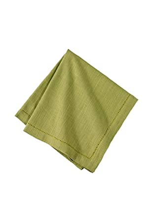 Couleur Nature Set of 6 Hemstitch Napkins (Kiwi)