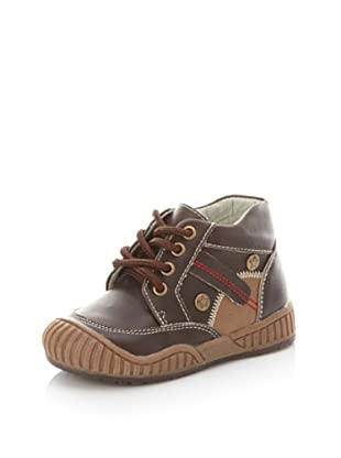 Joseph Allen 2572 Laces Sport Boot (Toddler/Little Kid) (Brown Combo)