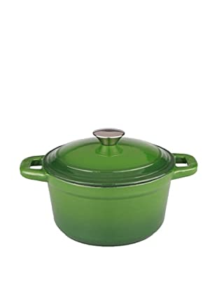 BergHOFF Neo 7Qt Cast Iron Round Covered Casserole, Green