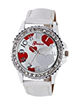 Geneva Fashions Ladies Watch - GL-11 White-H