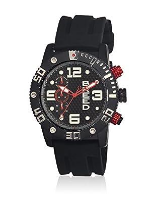 Breed Reloj con movimiento cuarzo japonés Brd3905 Negro 45  mm