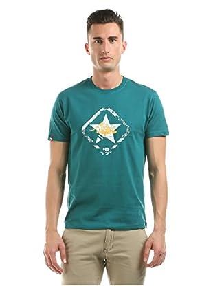 Hot Buttered Camiseta Manga Corta Green Star