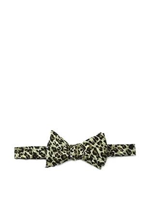 Cotton Treats Men's Felix Reversible Bow Tie, Black/Olive