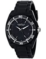 Caravelle New York Sport Analog Black Dial Men's Watch - 43A127