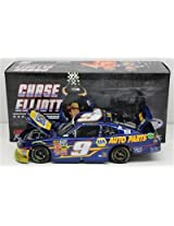 Chase Elliott #9 NAPA Auto Parts 2014 NASCAR Nationwide Series Texas Motor Speedway Raced Win Die-cast Car, 1:24 Scale ARC HOTO