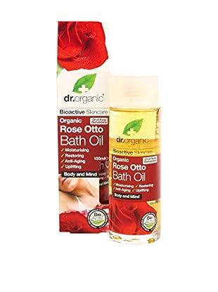 Dr Organic Olio Bagno e Massaggio Rose Otto 100 ml