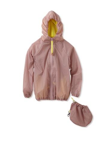 kicokids Girl's Rain Slicker Mac-In-A-Pac (Potpouri)