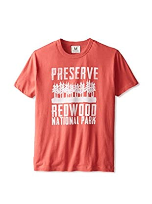 Tailgate Clothing Company Men's Preserve Redwood Crew Neck T-Shirt