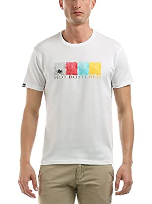 Hot Buttered T-Shirt Water Colors