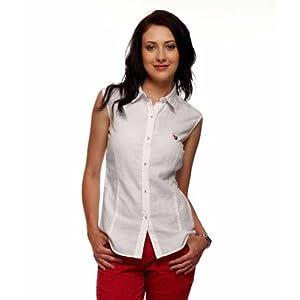 American Swan White Linen Shirt