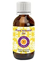 Pure Almond Oil 50ml (Prunus Dulcis) 100% Natural Cold Pressed