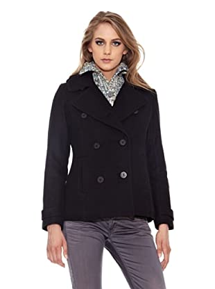 Pepe Jeans London Chaquetón Hanne (Negro)