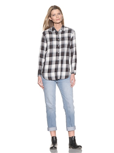 Earnest Sewn Women's Painter's Shirt (Chestnut)