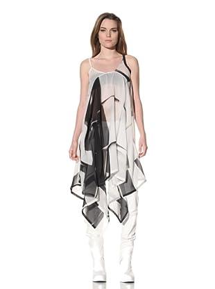 Ann Demeulemeester Women's Draped Dress (Off-White)