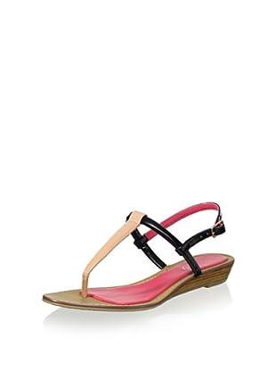 Boutique 9 Women's Pandi Sandal (Black/Natural)
