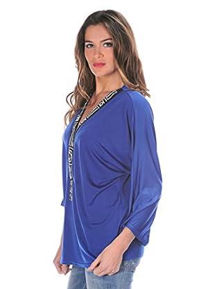 Bleu Marine Bluse Jessy