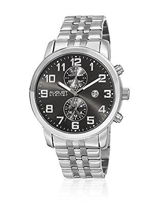 August Steiner Reloj con movimiento cuarzo suizo Man AS8175SSB 44 mm