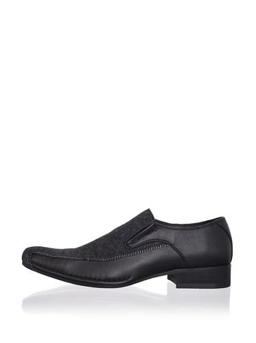 Robert Wayne Men's Air Gee Loafer (Black)