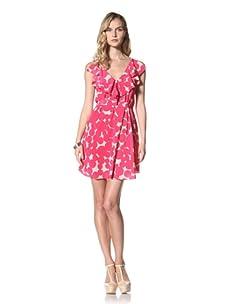 Yoana Baraschi Women's Ruffle Tank Dress (Strawberry/Shell)