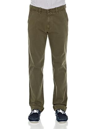 Carrera Jeans Pantalón Gabar. Stretch (Verde)