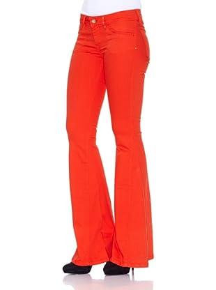 Salsa Pantalón Vaquero Sally Slim (Rojo)