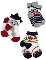 Jefferies Socks Baby Boys' Safety Triple Treat Socks