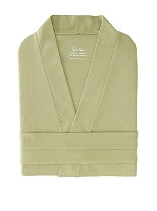 Pure Fiber Organic Cotton Jersey Knit Robe (Sage Green)